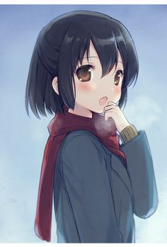 ❤٩(๑•◡-๑)۶❤                                            Anime Girl