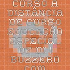 Curso a Distância de CURSO EDUCAÇÃO ESPECIAL DF DI | Buzzero.com
