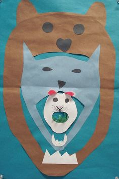 This was a collaborative project I did with one of the Science teachers at my school. He was teaching his kids about food chains and wa...