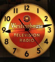 Westinghouse Vintage Advertising Clocks