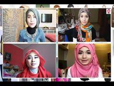 Tutorial hijab simpel | elegan | gaul | keren