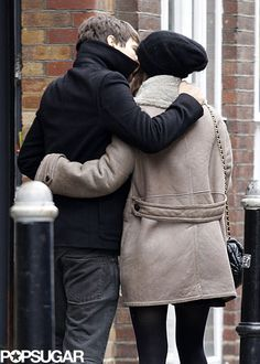 Keira Knightley planted a kiss on fiancé James Righton in NYC