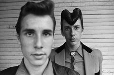"""""""The Teds"""" by Chris Steele-Perkins (1979) """"Teddy Boy (also known as Ted) is a British subculture typified by young men wearing clothes that were partly inspired by the styles worn by dandies in the..."""