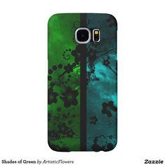 Shades of Green Samsung Galaxy S6 Cases
