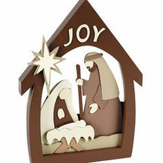 nativity christmas crafts | Nativity Craft Kit