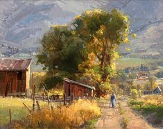 Countryside by Kathryn Stats - Greenhouse Gallery of Fine Art