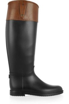 722907b8a6f1 Burberry - Rubber Wellington boots