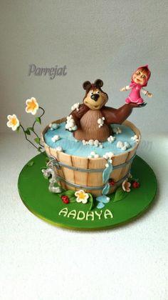Masha and the Bear - Cake by Parrejat Boraah