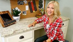 """like the tip about making the cabinets into shaker-style with thin plywood.{video} Tommy & Shelley's Cool """"New"""" Kitchen Refacing Kitchen Cabinets, Cabinet Refacing, Kitchen Redo, Kitchen And Bath, New Kitchen, Kitchen Knobs, Cabinet Fronts, Updated Kitchen, Cabinet Doors"""