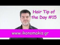 Πως να ισιώσεις τις αφέλειες σου !!! Hair Tip of the Day !!! Tip Of The Day, Hair Hacks, Workshop, Tips, Youtube, Friends, Videos, Atelier, Amigos