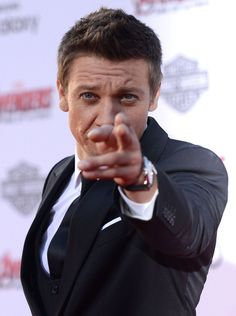 Jeremy Renner at the 'Avengers: Age Of Ultron' premiere.