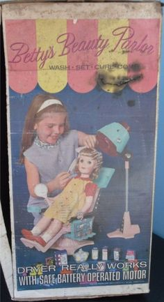 1964 Betty's Beauty parlor.        I didn't have one of these but I did have my Uncle Sal's real live Beauty Parlor in Brooklyn to hang out in!