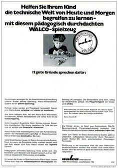 Original-Werbung/ Anzeige 1969 - WALCO SPIELZEUG - ca. 180 x 240 mm