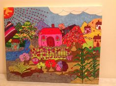 la casa de mi tio Juan painting by Helen