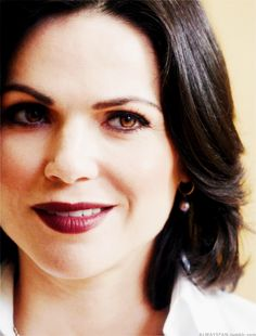Had to be pinned because white shirt. I'm nothing if not consistent. - Regina Mills, Lana Parrilla - Once Upon a Time