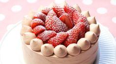 【スイーツレシピ】苺チョコショートケーキStrawberry chocolate shortcake