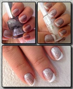 Twist on your ordinary French Manicure
