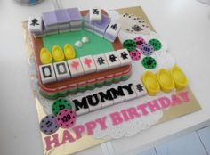 Mahjong jellycake