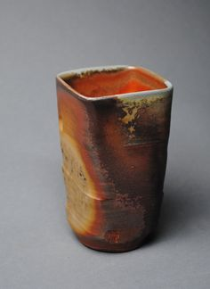 Tumbler Wine Cup Wood Fired K15 by JohnMcCoyPottery on Etsy, $24.00. www.etsy.com/shop/JohnMcCoyPottery