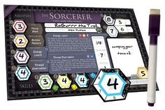 A hero-building adventure board game for 1-7 players. Explore the board, complete quests, battle tough foes and power up your heroes!
