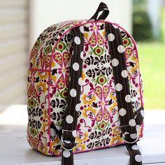 Un sac-à-dos aux motifs floraux Plus