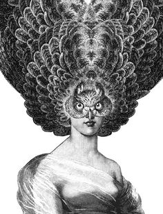 'Cecilia Huntress' screen print by Dan Hillier Nocturne, Pablo Picasso, Dan Hillier, Miles Johnston, Visual Metaphor, English Artists, Surreal Art, Limited Edition Prints, Oeuvre D'art