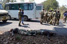 11 April – Maoists killed 7 of personnel of Chhattisgarh's Special Task Force in south Bastar