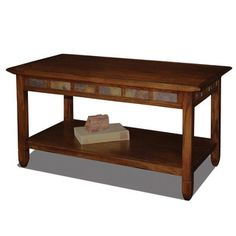 Shop for Favorite Finds Rustic Oak and Slate Tile Coffee Table. Get free shipping at Overstock.com - Your Online Furniture Outlet Store! Get 5% in rewards with Club O! - 14076474