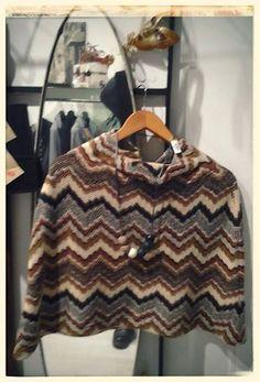 Collana ZSISKA collezione Primo. Cappa in lana collezione sartoria GRILLO TORINO