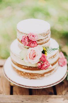 Een vrolijke, zomerse bruidstaart | ThePerfectWedding.nl