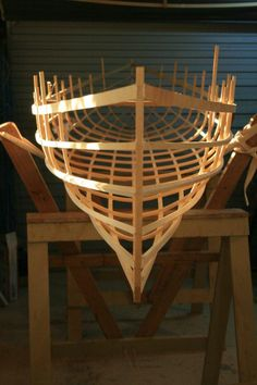 Geodesic Airolite Snowshoe 12 in Huon Pine. #boat #canoe    http://www.canoesandlampshades.com/files/1447738/uploaded/Smile26%20(35).jpg