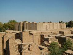 Babylonian temple. Al Hilla (Babylon) Iraq. 2004