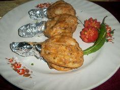 YUMMY TUMMY: Kaaju Murg Tangri / Oven Roasted Shahi Chicken / Roasted Chicken with Cream & Cashew marination