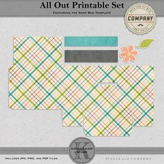 Print, cut and fold to create an adorable Soap Box! This printable combines the All Out Paper Pack plus the Soap Box Template to create an ...