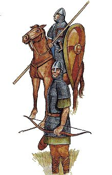 Ossett - the history of a Yorkshire town Rogue Knight, Knight Art, Hastings 1066, Norman Knight, Ottonian, Norman Conquest, Norse Vikings, Medieval Armor, 11th Century