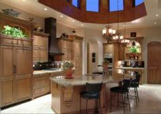 Custom Kitchen and Wet Bar by Cielo Interiors http://www.wayfair.com/Shop-The-Look/Gallery/Custom-Kitchen-and-Wet-Bar-G23428?refid=SBP