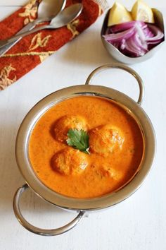 Dum aloo recipe with step by step photos. Creamy, rich, delicious dum aloo made with baby potatoes. It is Restaurant style punjabi dum aloo - use vegan cream Aloo Recipes, Veg Recipes, Curry Recipes, Vegetarian Recipes, Cooking Recipes, Punjabi Cuisine, Punjabi Food, North Indian Recipes, Indian Food Recipes