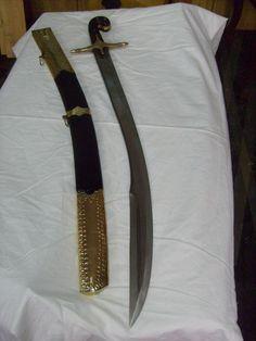This is the kilij sword made for me by the Yatagan El Sanatlari