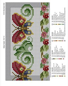 Free Cross Stitch Patterns by EMS Design. Free Cross Stitch Charts, Cross Stitch Bookmarks, Cross Stitch Borders, Modern Cross Stitch Patterns, Cross Stitch Designs, Butterfly Cross Stitch, Beaded Cross Stitch, Cross Stitch Embroidery, Cross Stitch Gallery