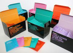R Design selfridges colorful #tea #packaging PD