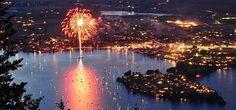 4th of July fireworks on Lake Chelan www.wenatcheeluxuryhomes.com