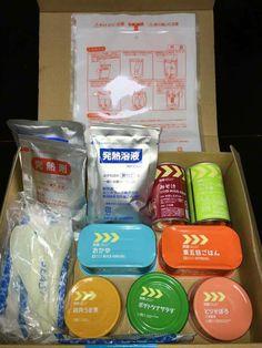 熊本大地震救災包內容物