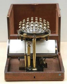 The Malling-Hansen writing ball was the world's first commercially produced typewriter, and it was sold world wide. For his invention, Malling-Hansen received the First Price medals at the Scandinavian Art, Agricultural and Industrial Exhibitions in Copenhagen in 1872 and 1888, at the World Exhibitions in Vienna in 1873 and Paris in 1878 and at the Philadelpia Centennial in 1876. It was also exhibited on the first annual Kensington Exhibition in London in 1871.