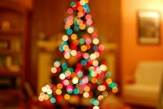 I love this shot... reminds me of all the late nights staring at our Christmas tree.