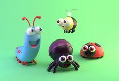 Bugs on Behance