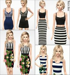 Sims 3 Finds - Summer collection at Irida Sims