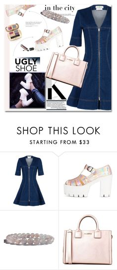 """""""Ugly (But Chic?!) Shoes"""" by zenstore ❤ liked on Polyvore featuring STELLA McCARTNEY, Karl Lagerfeld and uglyshoes"""
