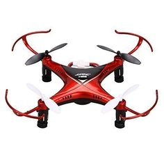 Coocheer JJRC H22 Mini Drone Double-sided Inverted Flight RC Quadcopter Red ** Click image to review more details.