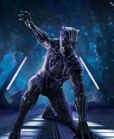 You are watching the movie Black Panther on Putlocker HD. King T'Challa returns home from America to the reclusive, technologically advanced African nation of Wakanda to serve as his country's new leader. Marvel Comics, Poster Marvel, Marvel Heroes, Marvel Avengers, Black Panther King, Black Panther 2018, Black Panther Marvel, Combat Rapproché, Black Panther Chadwick Boseman