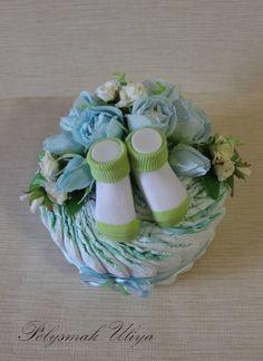 Подарки из памперсов - Baby Cake